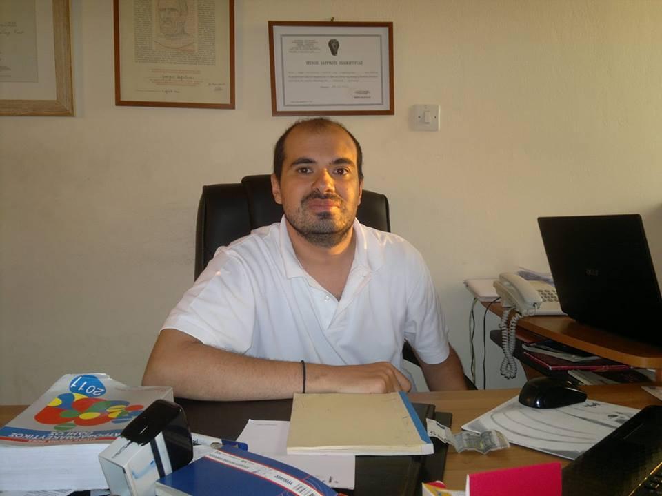 Αγγελίνας Γιώργος υποψήφιος Δημοτικός Σύμβουλος Νίκαιας-Ρέντη με την Κίνηση Πολιτών «Κόντρα στο Ρεύμα».