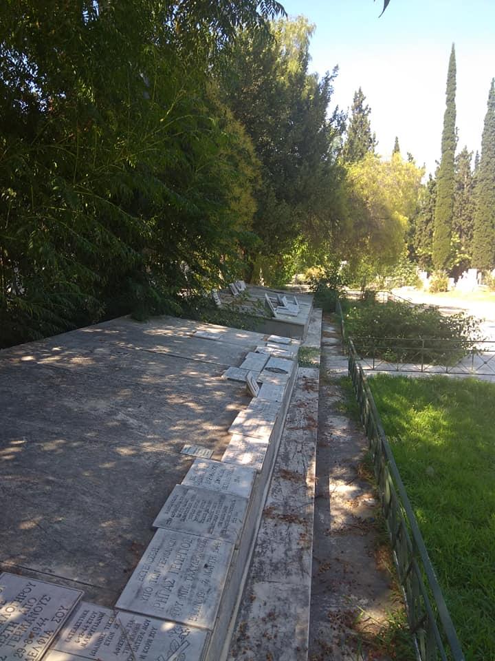 Άμεση Ανάπλαση-Ανάδειξη του Μνημείου για τους Εκτελεσμένους στο Γ' Nεκροταφείο.